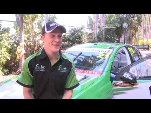 V8 DRIVERS JOIN AUSTRALIAN NAVY IN DARWIN - Package Video
