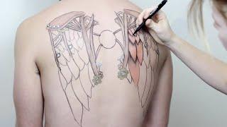 Icarus By Jody Steel - A Timelapse Drawing