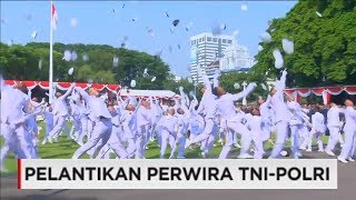 Gembira & Tangis Haru Perwira TNI-Polri Saat Selesai Dilantik, Praspa 2017