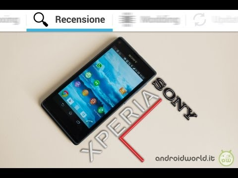 Sony Xperia L, recensione in italiano by AndroidWorld.it