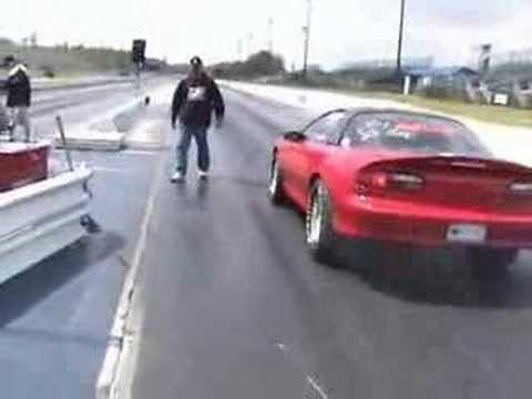 Drag racing wheelstand Video