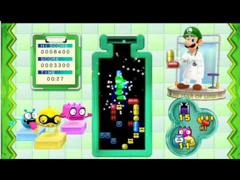 Dr. Luigi - Nintendo Direct Gameplay Footage (Wii U)