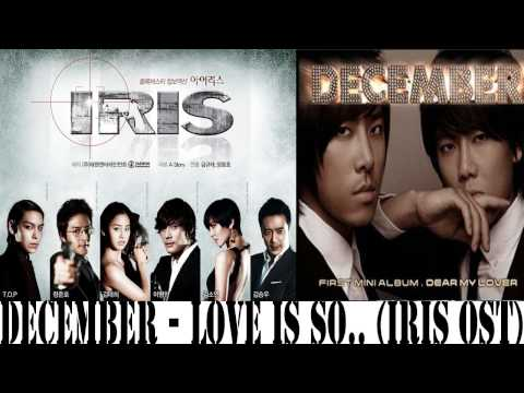 [mp3 Dl] December - (사랑 참) Love Is So.... (iris Ost) video