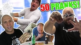 50 QUICK PRANKS TO DO ON FRIENDS & FAMILY ANYWHERE IN THE WORLD!!! - HOW TO PRANK COMPILATION
