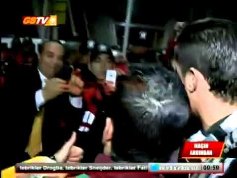 image vid�o رونالدو يلتقي بشبيهه في تركيا