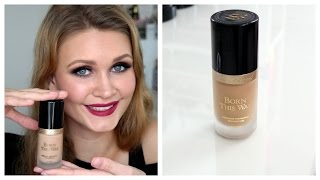 TOO FACED BORN THIS WAY FOUNDATION | Test & Review | deutsch, Deutschland