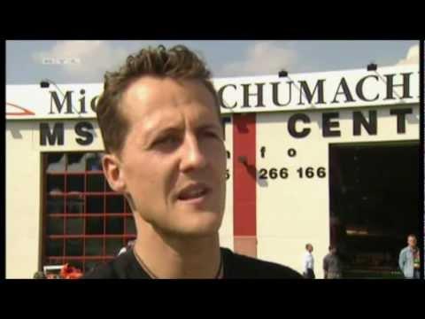 Michael Schumacher - funny scenes