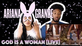 ARIANA GRANDE - GOD IS A WOMAN | 2018 MTV VIDEO MUSIC AWARDS LIVE PERFORMANCE | REACTION