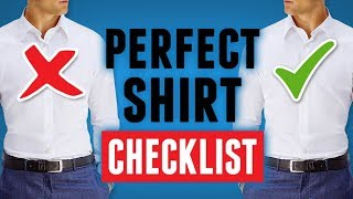 The Perfect Shirt Checklist   How To Buy An Amazing Looking Shirt? RMRS Style Videos