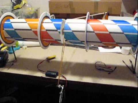 ROTORWING Part 1 * MAKING OF the Flettner Wing * Magnus Effect * RC - Experimental *