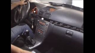 Radio Toyota Avensis / How to remove radio Toyota avensis / Car Audio las Fuentes