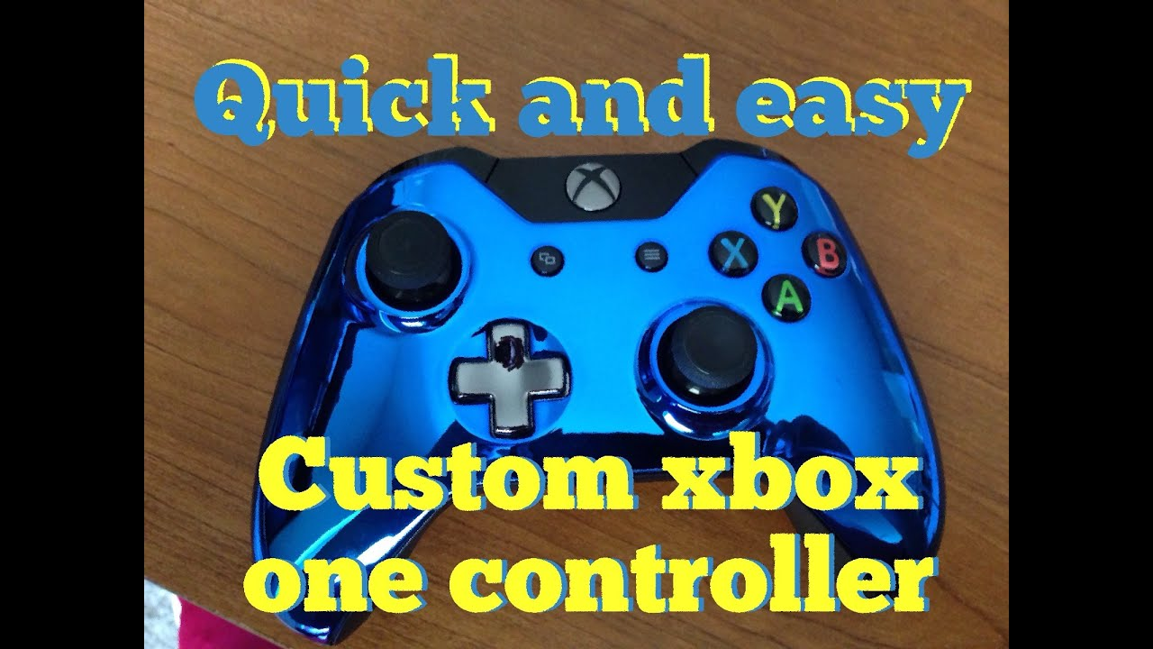 Xbox One Custom Controller Amazon Quick And Easy Custom Xbox One