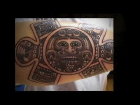 Aztec Tattoo Designs - Beautiful Art Video