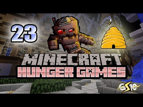 Minecraft Hunger Games: Episode 23 - The Hive Gameplay