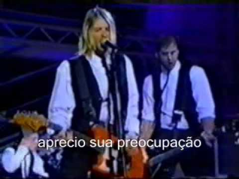 Nirvana Rape Me Legendado video