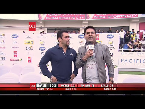 Salman Khan Interview With Kapil Sharma - Ccl4 video