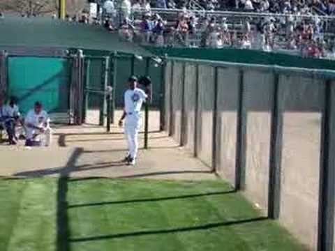 2008 Cubs Spring Training - Carlos Marmol Video