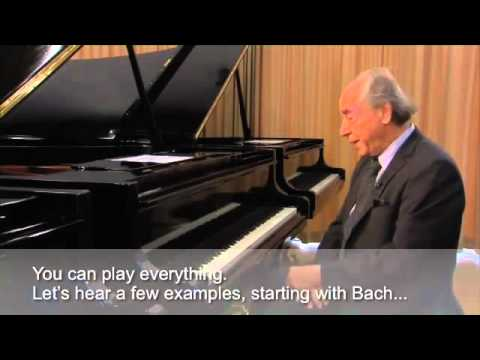 Paul Badura Skoda explains what is special about Bösendorfer