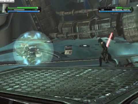 The Force Unleashed: Darth Stalker, Part 1, The hunt for Kota.