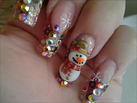 U as para navidad 2014 dise os u as de navidad for Decoracion de locales para navidad