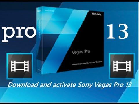 تحميل و تفعيل سوني فيغاس برو 13   Download and activate Sony Vegas Pro 13