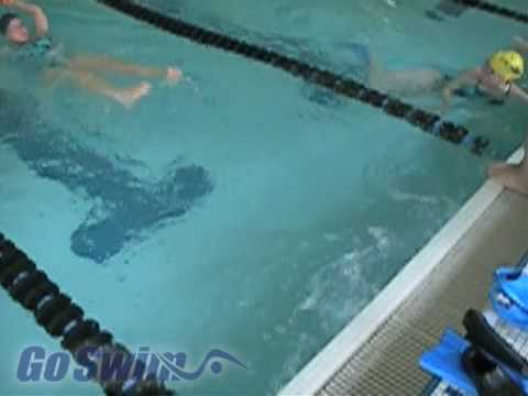 Swimming - Turns - Freestyle Flip Turn Step #2