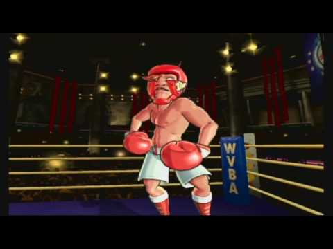 Punch Out!! Pre Round Animations