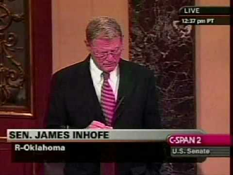 James Inhofe Introduces Bill to Stop Bailout Spending - Nov. 17, 2008