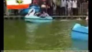 دختران غرق شده در درياچه پارك شهر تهران
