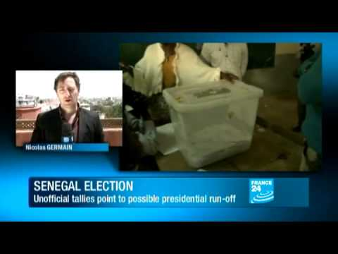 Senegal's Wade headed to run-off election
