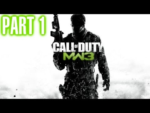 Call of Duty Modern Warfare 3 Walkthrough Part 1 - Act 1 - Black Tuesday HD