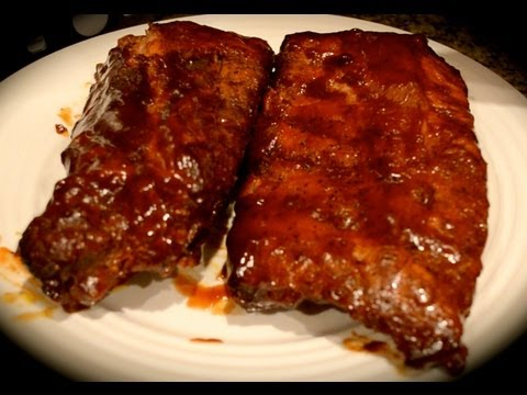 Fuzzy's Kitchen – Apple Smoked Ribs