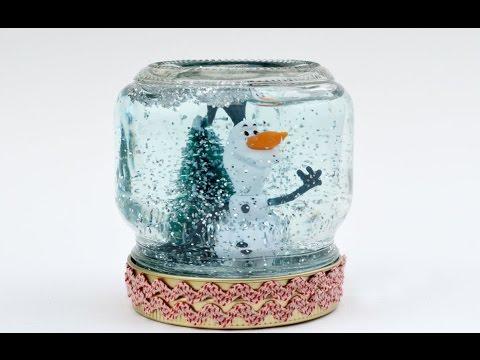 Снежный Шар Детские Поделки Своими Руками Видео / Идеи подарков на Новый год своими руками 2018