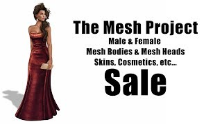 TMP Male & Female Mesh Bodies on Sale in Second Life