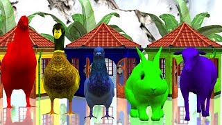 Learn Colors 3D Animation Songs for Kids - Colors Learning Colors - Children's Educational Video