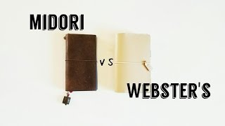 download lagu Midori Vs Webster's Pages Traveler's Notebook gratis