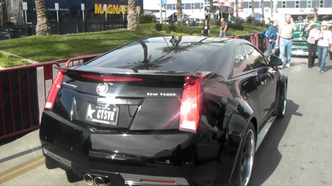 Dubsandtires Com 2011 Cadillac Cts V Hennessey Black
