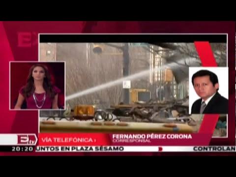 Llegan a México restos de mujeres que fallecieron durante derrumbe en EU / Paola