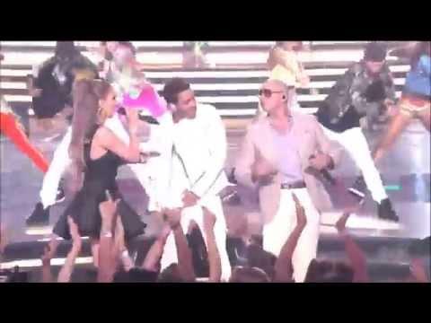 Back It Up (Perfomance American Idol) Prince Royce ft. Jennifer Lopez & Pitbull (HD)
