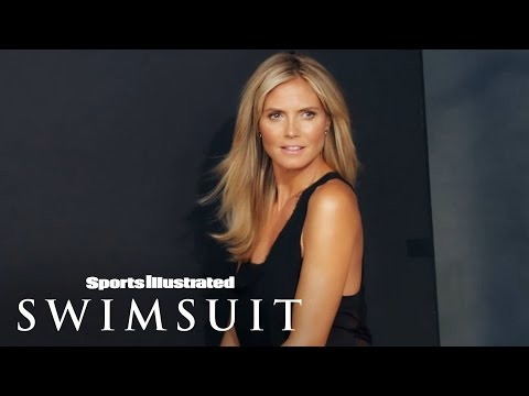 Heidi Klum Behind The Scenes Legends | Sports Illustrated Swimsuit