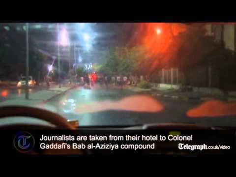 Download Saif al-Islam takes journalists on tour of 'safe' Tripoli Mp4 baru