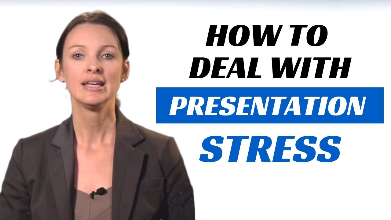 how to avoid stress before presentation
