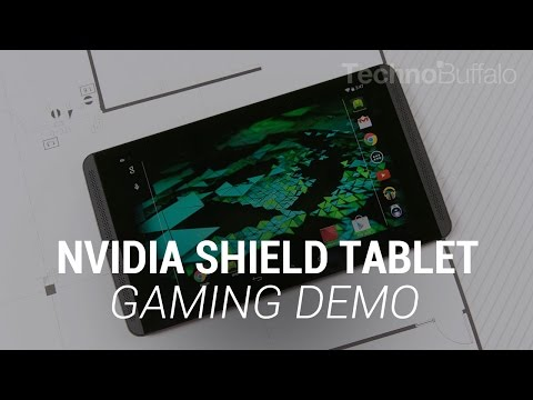 NVIDIA SHIELD Tablet Gaming Demo