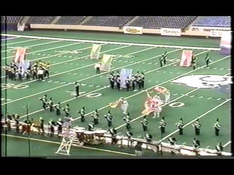 Marietta High School Marching Band Amazing Grace 2000