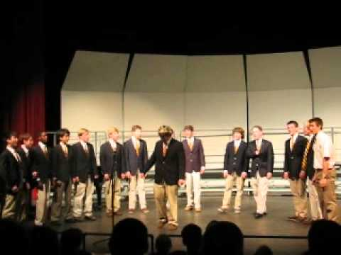 "The Haverford School Notables singing ""King of Spain"""