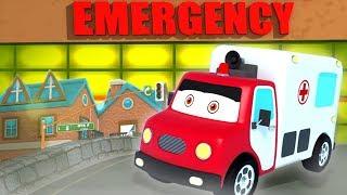 Xe cứu thương hình thành và sử dụng | nhac thieu nhi hay nhất | Ambulance | Kids Channel Vietnam