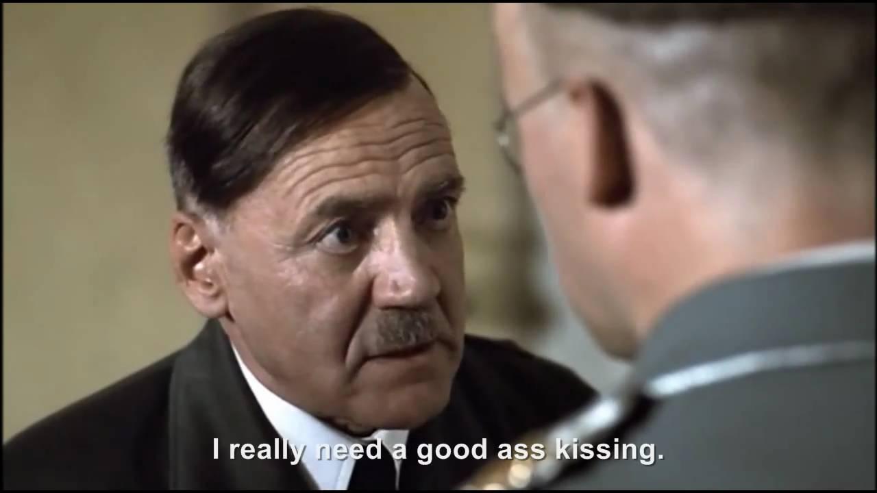Hitler wants Himmler to kiss his ass