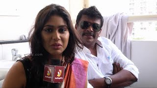 Jannal Oram - Parthiban, Vimal, Vidharth, Manisha Yadav at Jannal Oram movie Promotion Surprise element