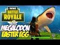Lagu Fortnite Battle Royale MEGALODON Easter egg - Giant Shark found!