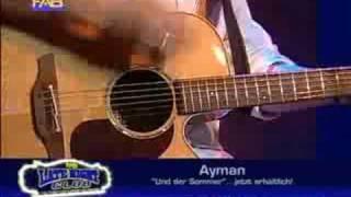 Ayman - Und der Sommer ist da (live im FAB am 21.08.2008)